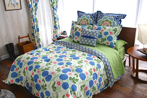 Amy Butler Kyoto Cotton Duvet Set, Full/Queen
