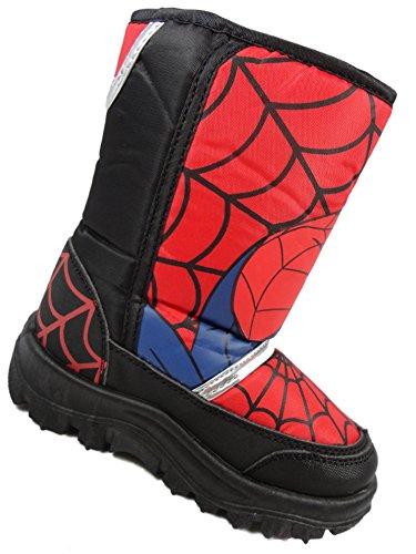 Spiderman , Jungen Stiefel Rot Rojo