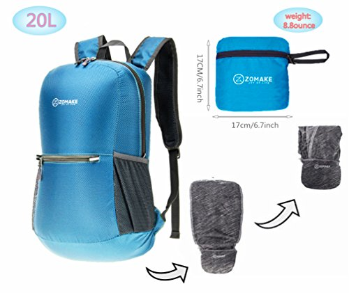 8cdd384f3581 This lightweight and handy backpack by Zomake is a suitable bag for  traveling. People will best be able to make their final purchase decision  for this ...