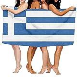 Greek Flag Unisex Fashion Towel Personal