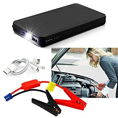 12V 20000mAh Multi-Function Car Jump Starter Power Booster Battery Charger FSS