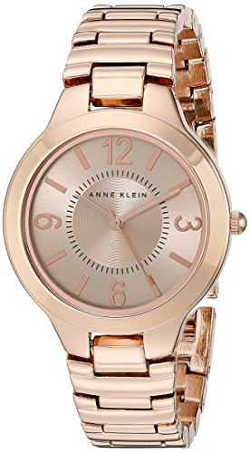 Anne Klein Women's AK/1450RGRG Rose Gold Tone Bracelet Watch by Anne Klein