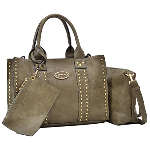 Women Designer Vegan Leather Handbags Fashion Satchel Bags Shoulder Purses Top Handle Work Bags