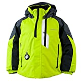 Obermeyer Kids Baby Boy's Meteor Jacket (Toddler/Little Kids/Big Kids) Green Flash 7