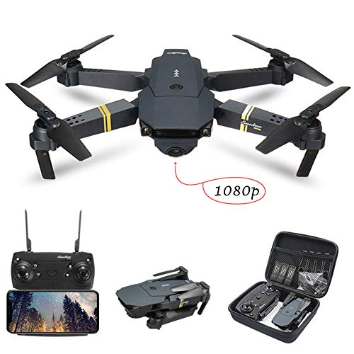 Drone with Camera for Adults, E58 Drone with 1080P 5.0MP Camera for Kids Beginners, FPV, WIFI, APP Control, Altitude…