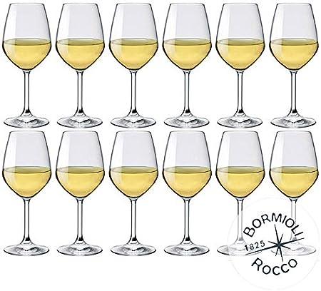 Set 12copas de degustación vino blanco y Rosato,Fabricados de Bormioli Rocco de cristalino starglas