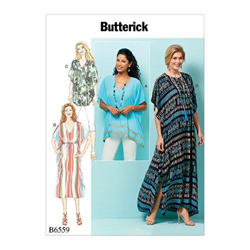 Butterick Patterns B6559ZZ0 Misses' Top, Large/X-Large/XX-Large ()