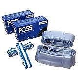 Foss Explosion-Proof Inner Tubes - 26 x 1.35-1.75, Presta Valve (2 Pack)