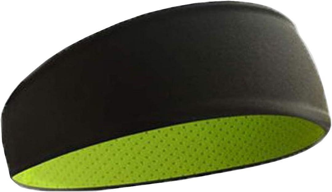 MRACSIY Stirnband Sportschwei/ßband f/ür Yoga Laufen Radfahren Basketball Dehnbares feuchtigkeitsregulierendes Haarband f/ür Kopfumf/änge 48-68CM