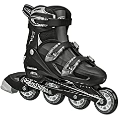 Youth with growing feet and adults will love the V-Tech 500. The inlines adjust up to 4 adult shoe sizes at the push of a button. Three buckles make the skates easy to put on and take off, and provide a solid level of comfort and support. The...