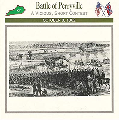 1995 Atlas, Civil War Cards, 32.07 Battle of Perryville, Kentucky