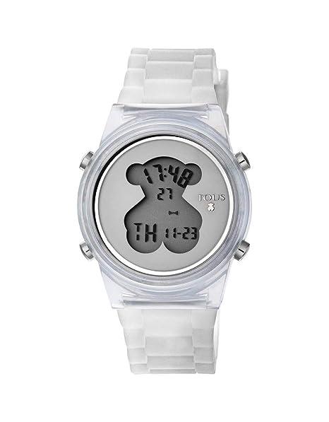 Reloj Tous D-Bear Fresh Transparente Mujer Digital 800350690: Amazon.es: Relojes