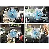Portable Clip-On 11-Inch Car Fan, 12v/24v Summer