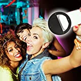 Ocathnon Black Selfie Ring Light for iPhone 6s/6 Plus/6s/6/5s/5/4s/4/Samsung Galaxy S6 Edge/S6/S5/S4/S3, Galaxy Note 5/4/3, Blackberry Bold Touch, Sony Xperia, Motorola Droid and Other Phones