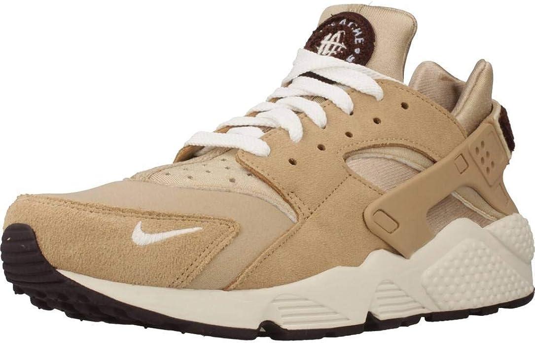 Nike Air Huarache Run PRM, Zapatillas de Gimnasia para Hombre, Beige (Desert/Sail/Burgundy Ash/Royal 202), 38.5 EU: Amazon.es: Zapatos y complementos