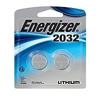 Baterías Energizer 2032, 3 voltios, 2 paquetes (el embalaje puede variar)