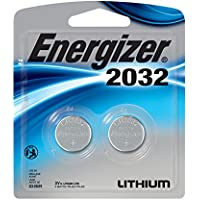 Energizer Watch/Electronic Batteries, 3 Volts, 2032, 2...