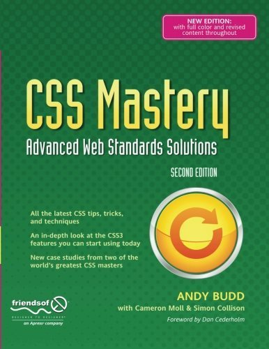 CSS Mastery: Advanced Web Standards Solutions (Black & White) by Simon Collison (2009-10-29)