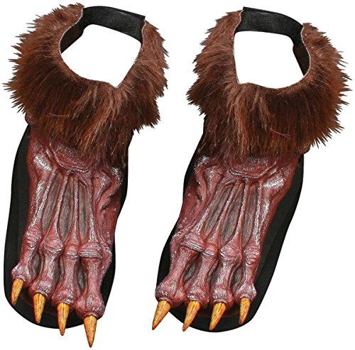 Faerynicethings Werewolf Shoe Covers -