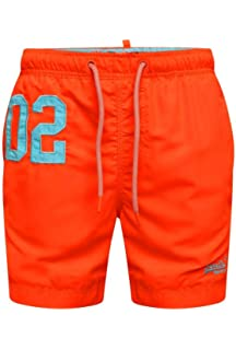 Superdry Badeshorts Herren WATERPOLO SWIM SHORTS Poolside Aqua