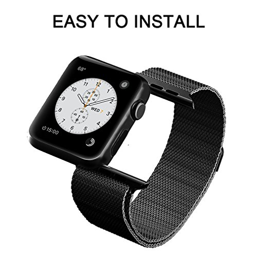 OROBAY-Apple-Watch-Band-38mm-42mm-Stainless-Steel-Milanese-Mesh-Loop-Magnetic-Closure-Clasp-Apple-Watch-Wristband-Strap-for-Apple-Watch-Series-3-Series-2Series-1-Sports-Edition