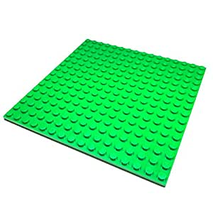 "Lego Parts: Creator Building Plate ""16 x 16 Studs"" (Service Pack 91405 - Green)"