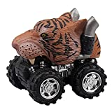 Kasien Pull Back Dinosaur Cars Toys, Big Tire Creative Gifts for Boys Girls Children Gift Toy...