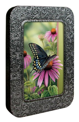 - Tree-Free Greetings Noteables Notecards In Reusable Embossed Tin, 12 Card Assortment, Recycled, 4 x 6 Inches, A Moment's Rest, Multi Color (76022)