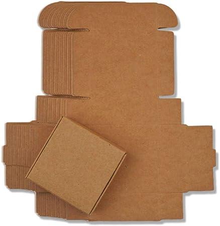 CTOBB - Caja de Papel de Regalo de cartón, 100 Unidades: Amazon.es: Hogar
