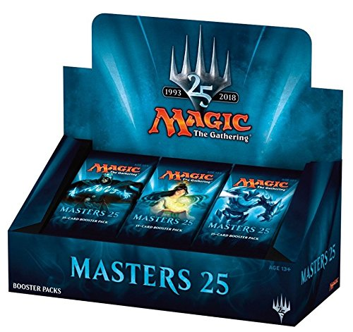 "Magic the Gathering ""Masters 25"" Factory Sealed Booster Box MTG Card Game – 24 packs"