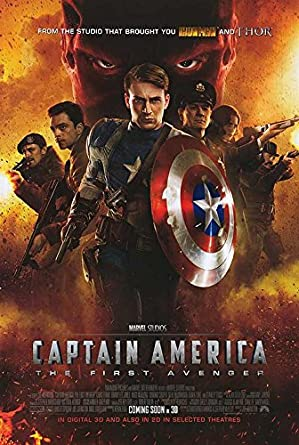 Image result for captain america first avenger poster