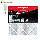 Toucan City Microfiber Dash Duster and Honeywell 20 in. x 20 in. x 1 in. Elite Allergen Pleated FPR 10 Air Filter (4-Pack) HW10FPR20201.4