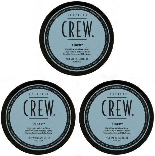 American Crew Fiber for Hold & Shine 3.0 oz (Pack of 3)