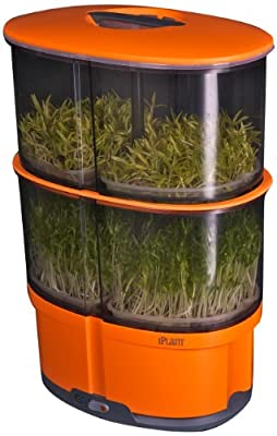 iPlant 2-Tiered Sprout Gardens, Orange