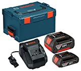 Bosch SKC181-303L 18-Volt Lithium-Ion Starter Kit with (1) 2.0Ah Battery and (1) 4.0Ah Battery, Charger and L-BOXX-3