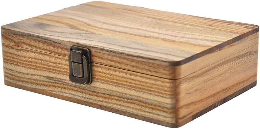 Sharplace 2X Caja de Madera Bandeja de Liar para Cigarrillos ...