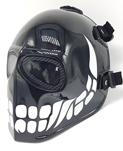 Invader King ™ Flatblack Smiley High Quality Fiberglass Airsoft Mask Bb Gun