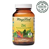 MegaFood, Zinc, Immune Health Support, Mineral and Dietary Supplement, Gluten Free, Vegan, 60 Tablets (60 Servings) (FFP)