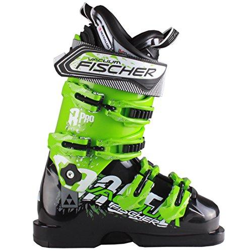 FischerレンジャーPro 13真空スキーブーツ 黒/Light 緑