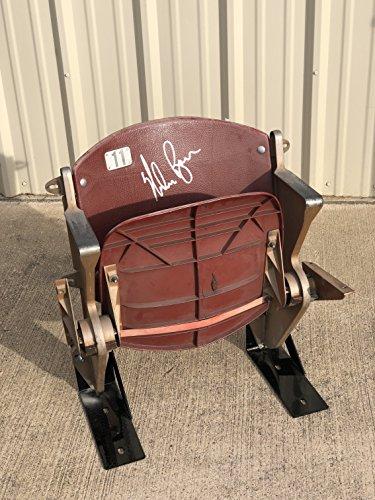 Original Vintage Texas Rangers Arlington Stadium Seat Chair Signed Autographed by Nolan Ryan (JSA COA)