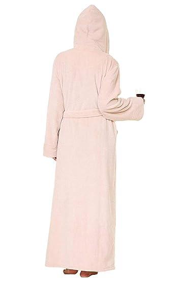 100% authentic c8fc0 65412 ShineGown Flanell Bademantel Herren Pyjamas Lange ...