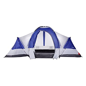 North Gear C&ing Deluxe 8 Person 2 Room Family Tent  sc 1 st  Amazon.com & Amazon.com : North Gear Camping Deluxe 8 Person 2 Room Family Tent ...