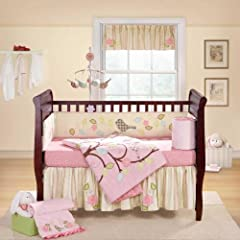 Lovebird 4-Piece Crib Bedding Set
