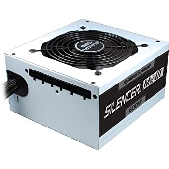PC Power & Cooling Silencer Series 600 Watt (600W) 80+ Bronze Semi-Modular Active PFC Industrial Grade ATX PC Power Supply 3 Year Warranty PPCMK3S600