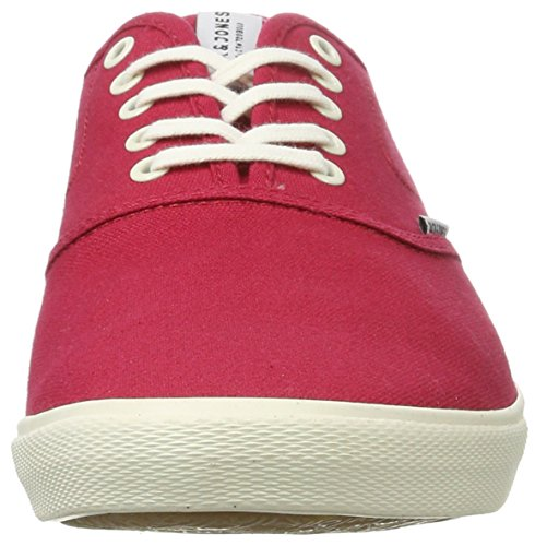 JACK & JONES Jfwspider Canvas Pop Barberry, Zapatillas para Hombre Rojo (Barberry)