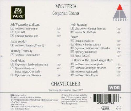 Mysteria: Gregorian Chants