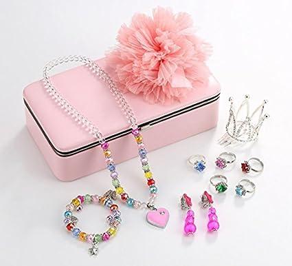 Amazoncom PinkSheep Princess Jewelry Box Jewelry Storage