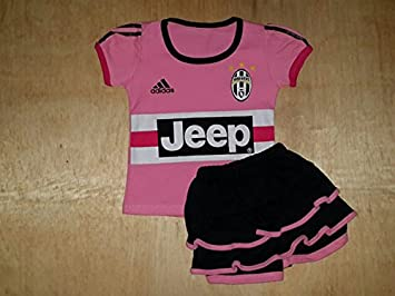 timeless design c46af d1c71 Amazon.com : Juventus Jersey for Baby Girls 3 - 12months : Baby