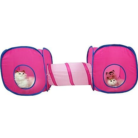 Da Jia Inc - Juguete para gatos pequeños, diseño de túnel