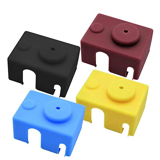 Calcetín de silicona para impresora 3D, cubierta de bloque de ...